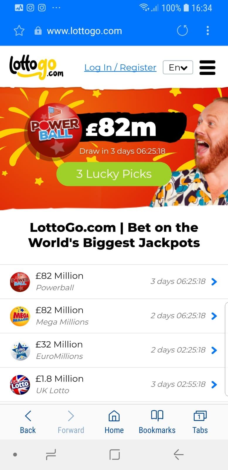 LottoGo Mobile